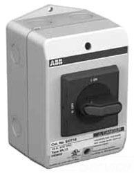 ABB EOT16U3P3-S 3P DISCONNECT SWITCH, 20A NF N3R