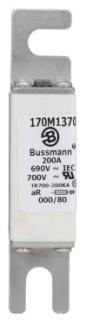 BUSSMANN 170M1370 FUSE 200A 690V 000/80 AR UC