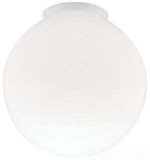 8157000 WESTINGHOUSE 6IN WHITE BALL SHADE