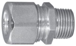 CG6275S APP 3/4 WT CBL CONN STEEL .625 - .750 ORANGE