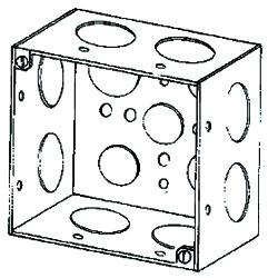 4SD1 APP 4X2-1/8 DEEP SQ BOX