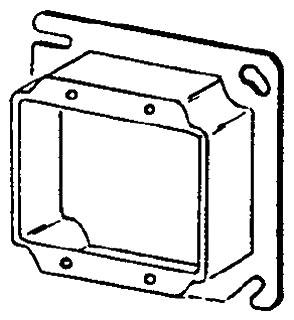 8469A APP 4SQ 2G PLASTER RING 1-IN RSD