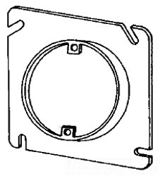 8488A APP 4-11/16 PLASTER RING 1/2 RSD ROUND OPENING