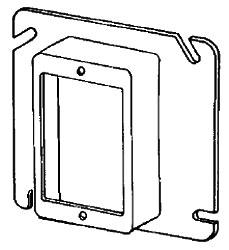 8485 APP 4-11/16 1G PLASTER RING 3/4 RSD