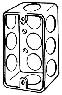 4CSL1/2 APP 4 X 1-1/4 DEEP HANDY BOX