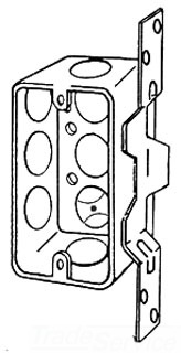 4CSVB1/2 APP 4X1-7/8 DEEP HANDY BOX W/ VERT BRKT
