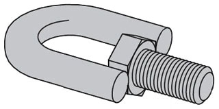 B446B-1/2-ZN B-LINE SWIVEL HGR