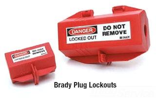 65675 BRADY PLUG LOCKOUT: 220/550 VOLT DEVICES