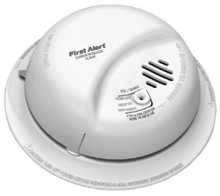 CO5120BN BRK MONOXIDE DETECTOR 120VAC 9V BATTERY BACKUP