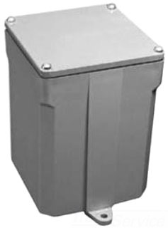 5133163 CANTEX PVC JUNCTION BOX 16X14X6 W/ SCREW COVER & GASKET NO KO'S
