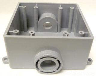 5133370 CANTEX E9812D 1/2 2G PVC FSC BOX