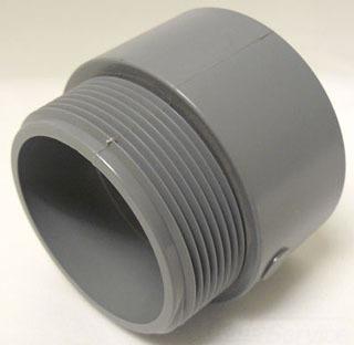 5140111 CANTEX E943M PVC MALE TERM ADAPTER 3-1/2