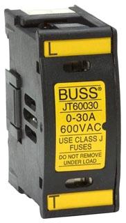 JTN60030 BUS BLOCK FUSE 30A 600V SAFETY J W/NEON INDICATOR