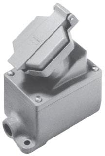 ENR21201 C-HINDS 20A 125V SGL GANG ASSY 3/4