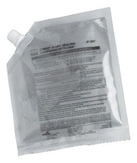 CHICO-A19PX CRS-H SEALING COMPOUND W/WATER & MIXING POUCH