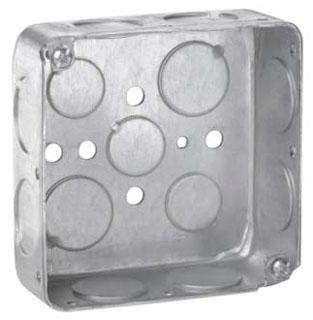 TP412 C-HINDS SQ BOX 3/4 KO