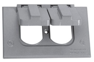 TP7207 C-HINDS SGL GANG COVER