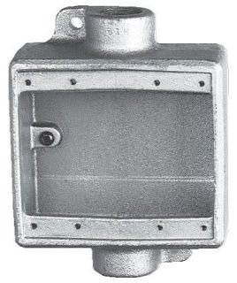 FDC222 CRS-H 3/4IN 2GANG CONDULET