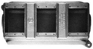 FD039 C-HINDS BLANK IRON FD BOX THREE (SINGLE) GNG FOR D&T 78227439610