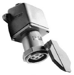 NRE6424 C-HINDS 60A 3W4P ARKTE NONMETALLIC RCPT ASSY SNAP CAP/SPDR 1 1/4 78227404995