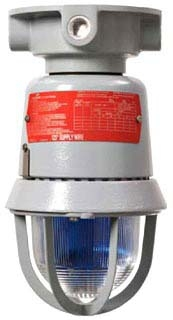 EXS301R/120 CROUSE HINDS RED STROBE CLASS 1, DIV 1, 120V XP FIXTURE. NEED TO ORDER MOUNTING MODULE SEPERATE