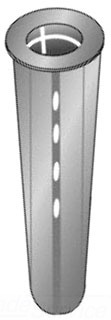 59408J CULLY 6-8 PLASTIC SCREW ANCHOR 08593708277