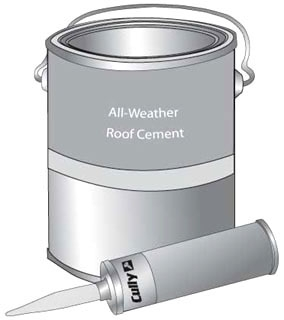96010 CUL ALL WEATHER ROOF CEMENT
