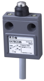 E47BCC06 CH COMPACT LIMIT SWITCH, SEALED PIN PLUNGER
