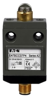 E47BCC08 CH COMPACT LIMIT SWITCH, SEALED ROLLER PLUNGER