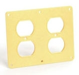 3260 WOODHEAD COVERPLATE (2) DUPLEX OUTLETS 78678833995 1301380035