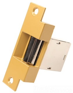 180-AF EDW DOOR OPENER MORTISE TYPE BRASS EPOXY FACEPLACE CHROME NOSING 8-16VAC 3-6Vdc 78264022440