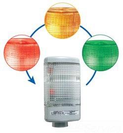 108IP-RGA-N5 EDW CHAMELEON LED INDICATOR RED GRN, AMB 120VAC