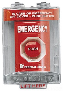 PSEMSC-R FEDERAL RED PULL STATION SOUNDER & COVER 78297920433