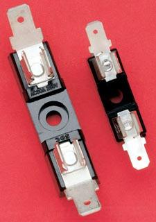 6X32QC1 MERSEN 30A 1P FUSE BLOCK ( GSA GDL GGC GAB ) 1/4 X 1-1/4