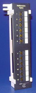 PP110C612V TYTON CAT6 12 PRT PATCH PANEL VERTICAL MOUNT