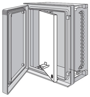 UU7560SP HOFFMAN Swing-Out Panel, fits 750x600m 78351033760