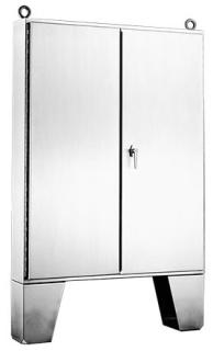 A726012USSLP HOF 2 DOOR SS TYPE 12 ENCLOSURE 72.06X60.06X12.06