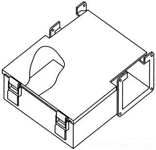 F88LJ HOFFMAN Junction Box 78351019350