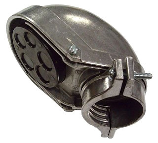 2414 RACO ENTR HEAD W/CLMP RGD/IMC/EMT 3-1/2 ALUM