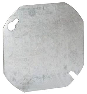 722 RACO 4 ROUND COVER FLAT - BLANK