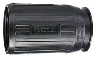 HBL7717C HUB BLACK WEATHERPROOF BOOT USED WITH CORDSETS