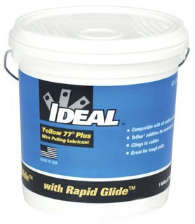 31-391 IDL YELLOW 77 PLUS WIRE PULLING LUBRICANT - GALLON