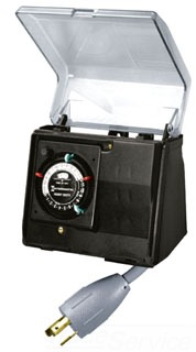 P1131 I-MATIC PORTABLE OUTDOOR TIMER 20 AMP TWIST LOCK