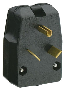 830-T LEV 30A/125V 2P3W MATCHING ANGLE PLUG TT-30P