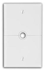 N751-W LEVITON WHITE SPLIT PLATE 07847779054