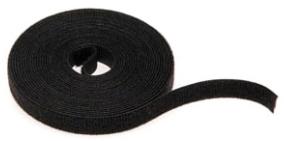 43115-015 LEV BLACK BULK HOOK AND LOOP WRAP 15FT-ROLL