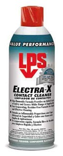 00816 LPS 16 OZ ELECTRA-X ELECTRICAL CLEANERS