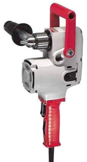 1676-6 MTC 2-SPEED HOLE HAWG DRILL W/CASE