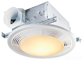 8663RP NUTONE FAN/LIGHT/NITE LIGHT COMBO POLYMERIC GRILL