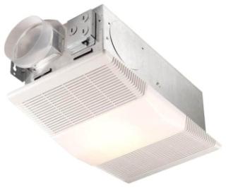 665RP NUTONE HEAT-FAN-LIGHT COMBINATION